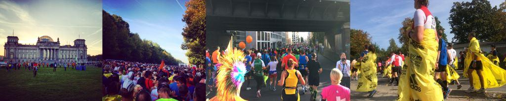 Berlin Marathon Reihe