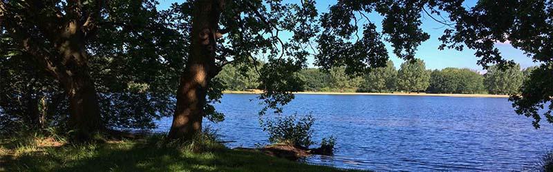 Laufstrecke drei Seen Hannover 22K