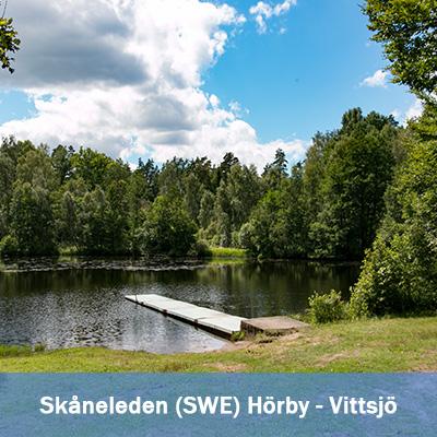 Skåneleden – von Hörby nach Vittsjö 100K