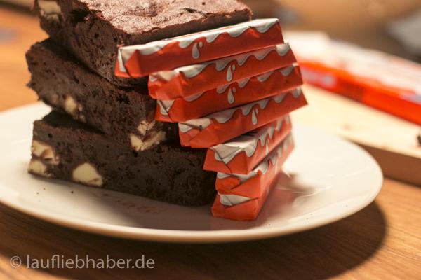 Kinderriegel Brownie