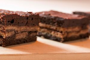 Amaretto Spekulatius Brownie Rezept