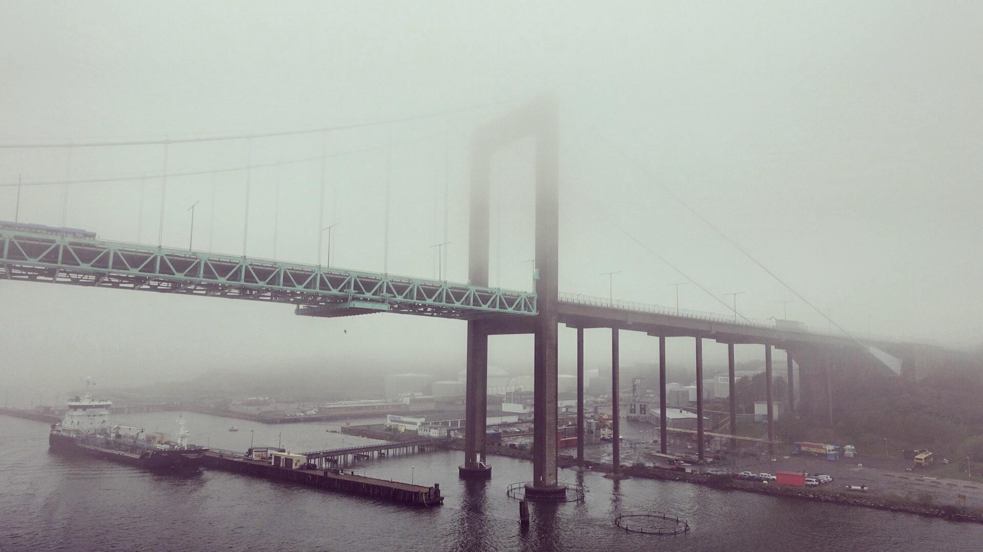 Göteborg Älvsborgsbron Hafenbrücke