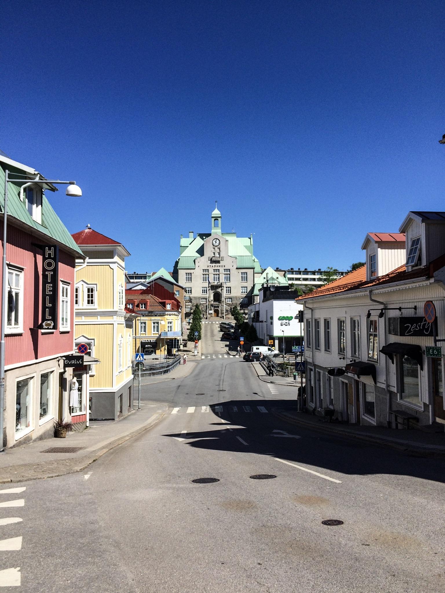 Strömstad Rathaus