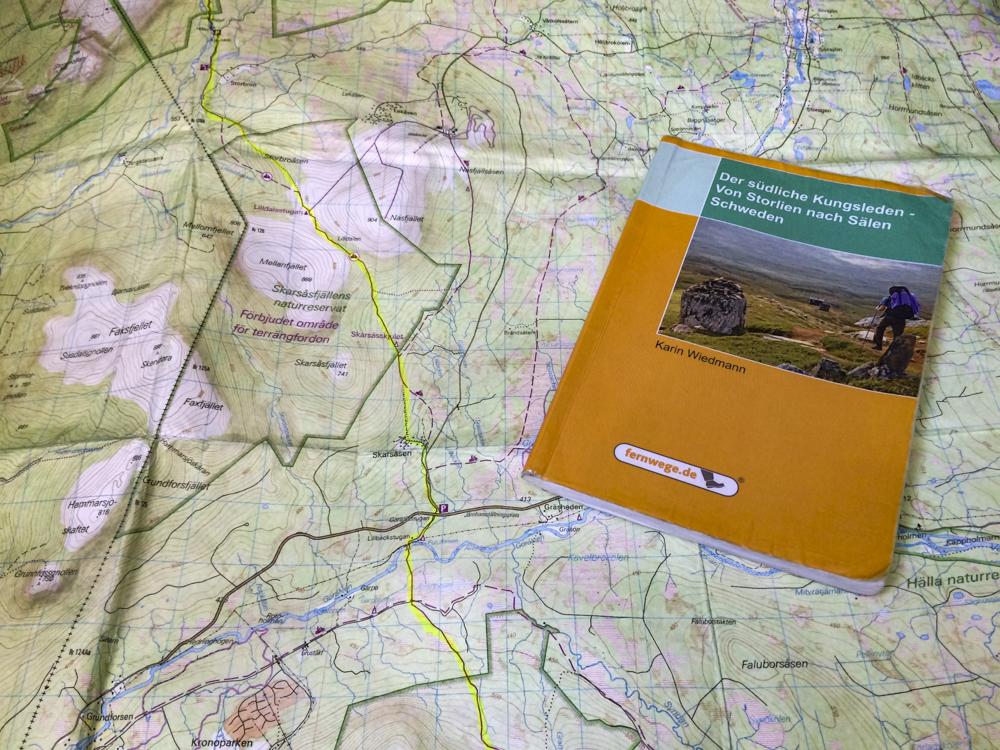 Wanderführer Kritik der südliche Kungsleden
